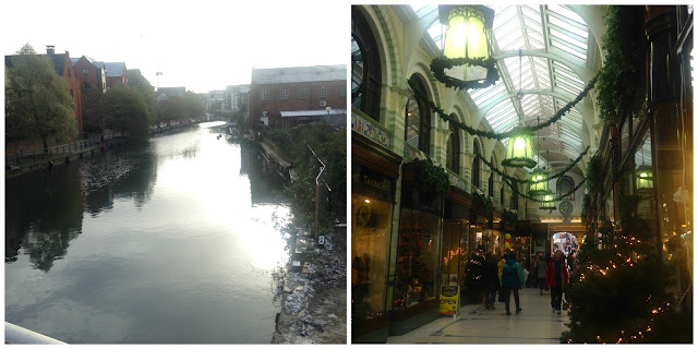 The Riverside and Arcade