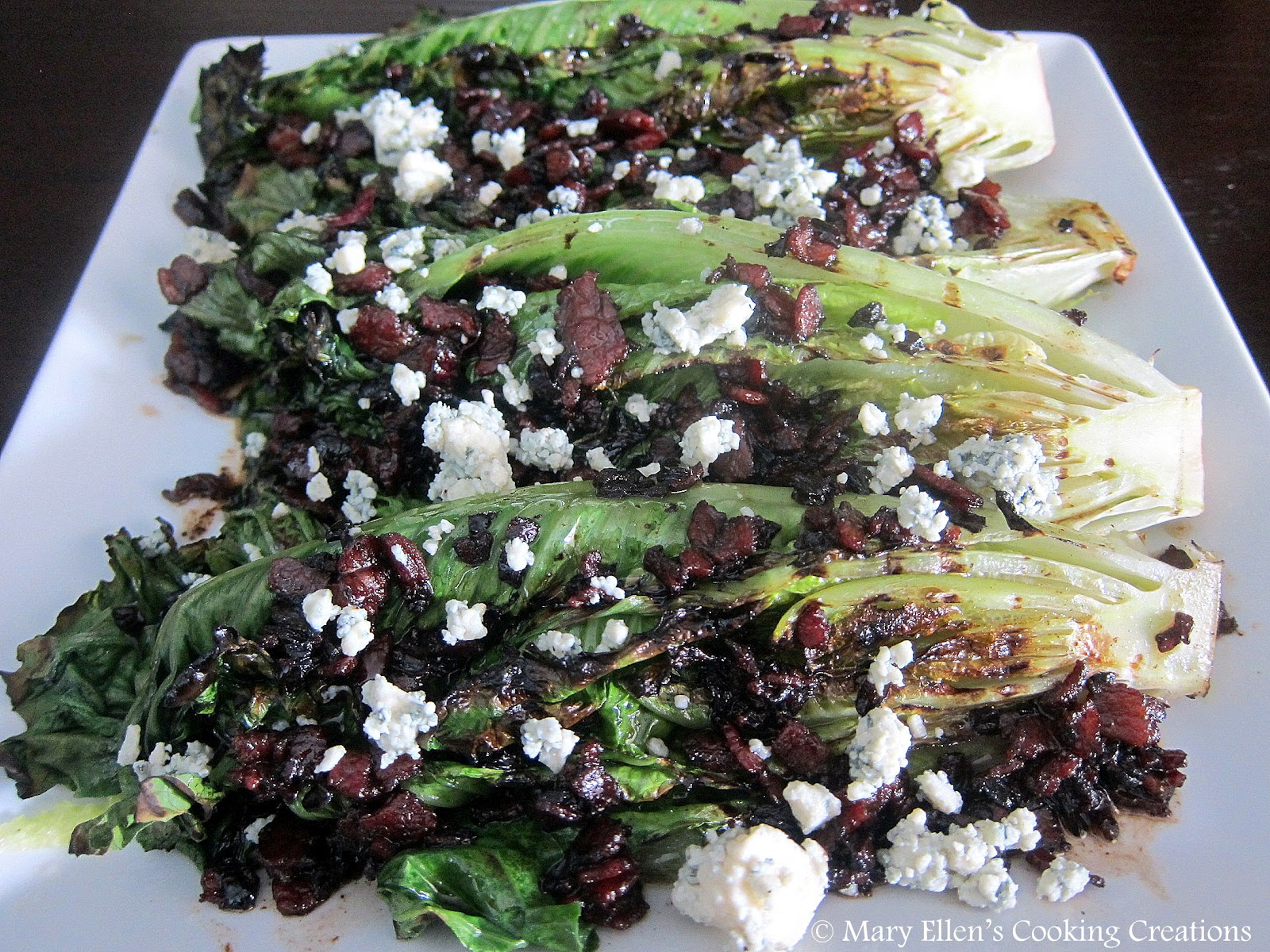 Grilled Broccoli Over Blue Cheese Dressing Recipes — Dishmaps