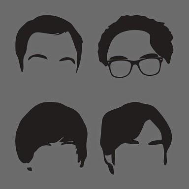 """Aqui tem uma imagem ligada aos personagens de """"The Big Bang Theory"""""""