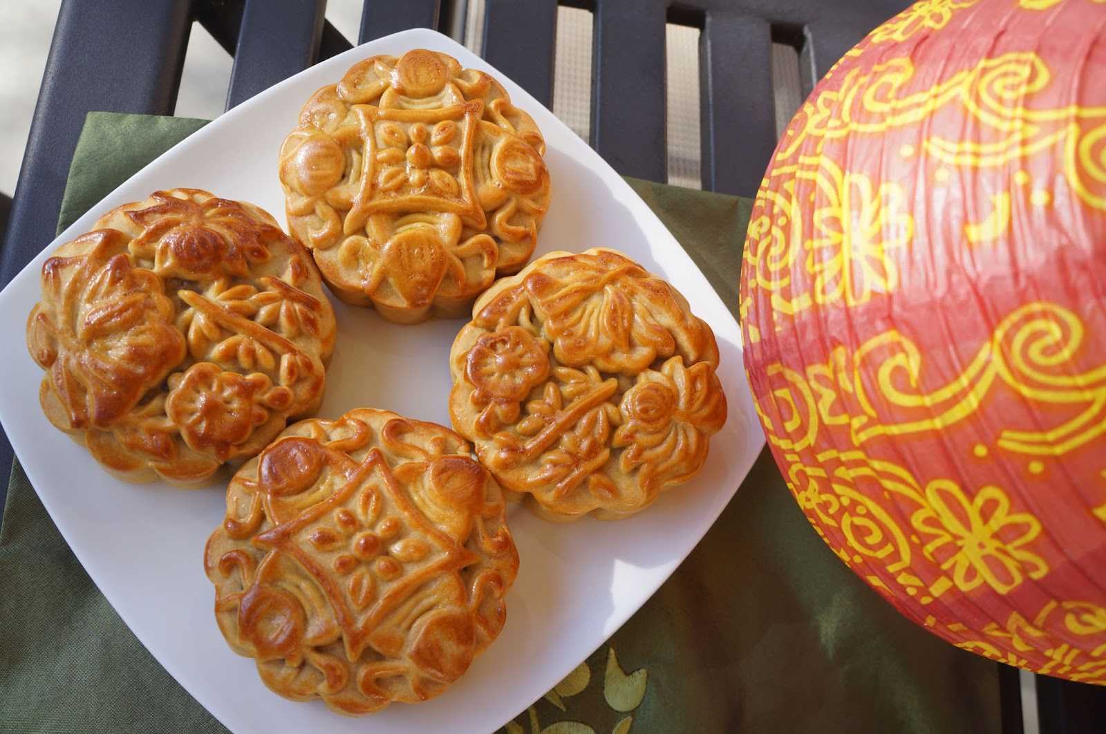 ... months before the actual moon cake making process about at least 2 3