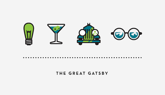 representations in the great gatsby speech