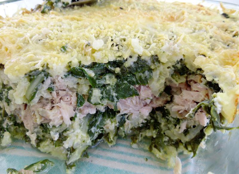 Gourmande ou passionn e gratin de maquereau au riz et - Cuisiner blettes feuilles ...