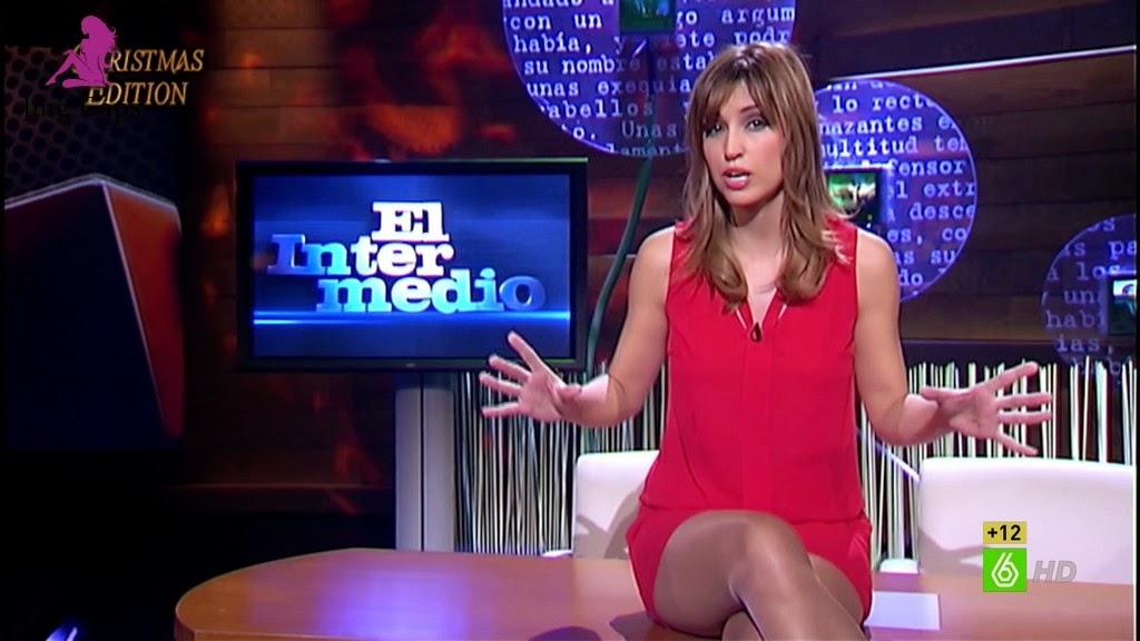 SANDRA SABATES, EL INTERMEDIO CHRISTMAS EDITION (29.12.14)