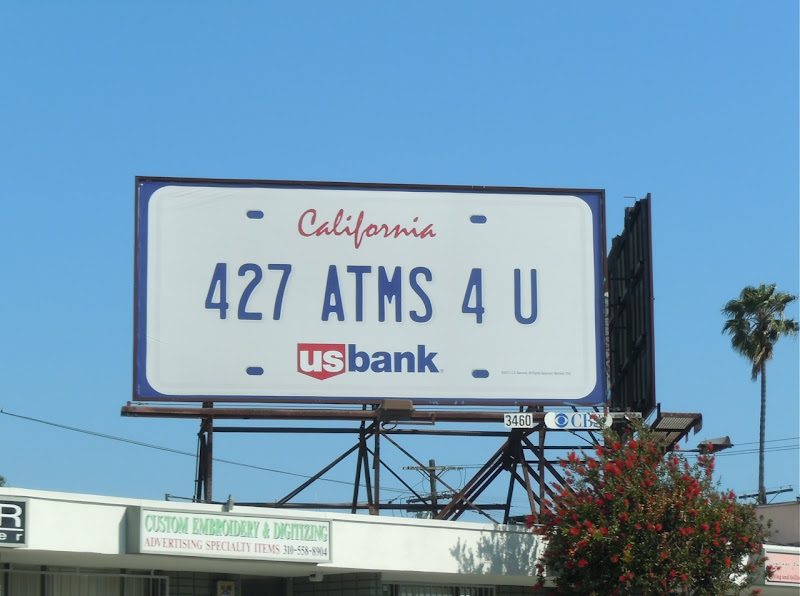 US Bank ATMS 4 U billboard