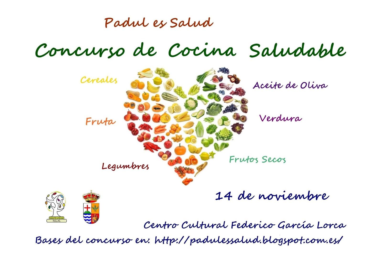 Padul es salud concurso de cocina saludable - Concurso de cocina ...