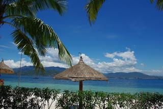 White sand beaches in Nha Trang