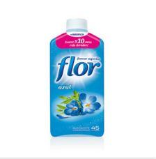 Prueba el suavizante concentrado azul de Flor
