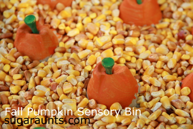 More than 50 fall sensory play ideas for kids