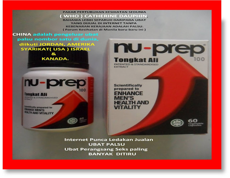 Program Kerjasama Kerajaan Malaysia,MIT-USA Nu-Prep100 US,EUpatent longjack,eurycoma longifolia