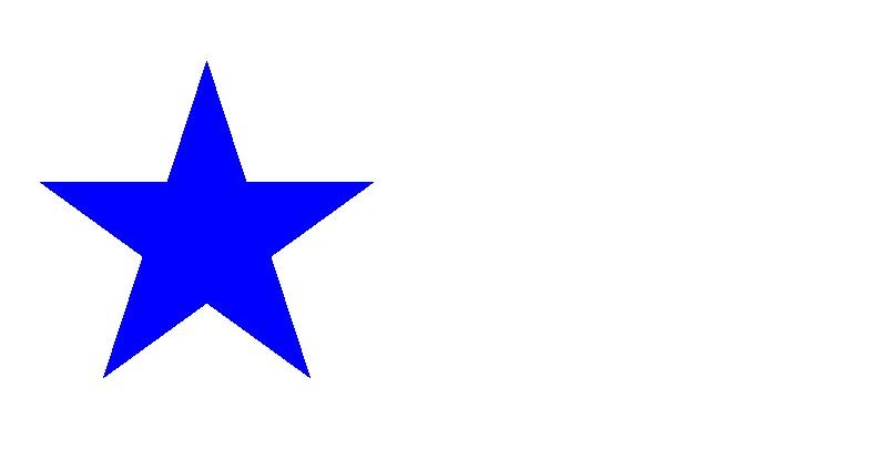how to draw a star in python