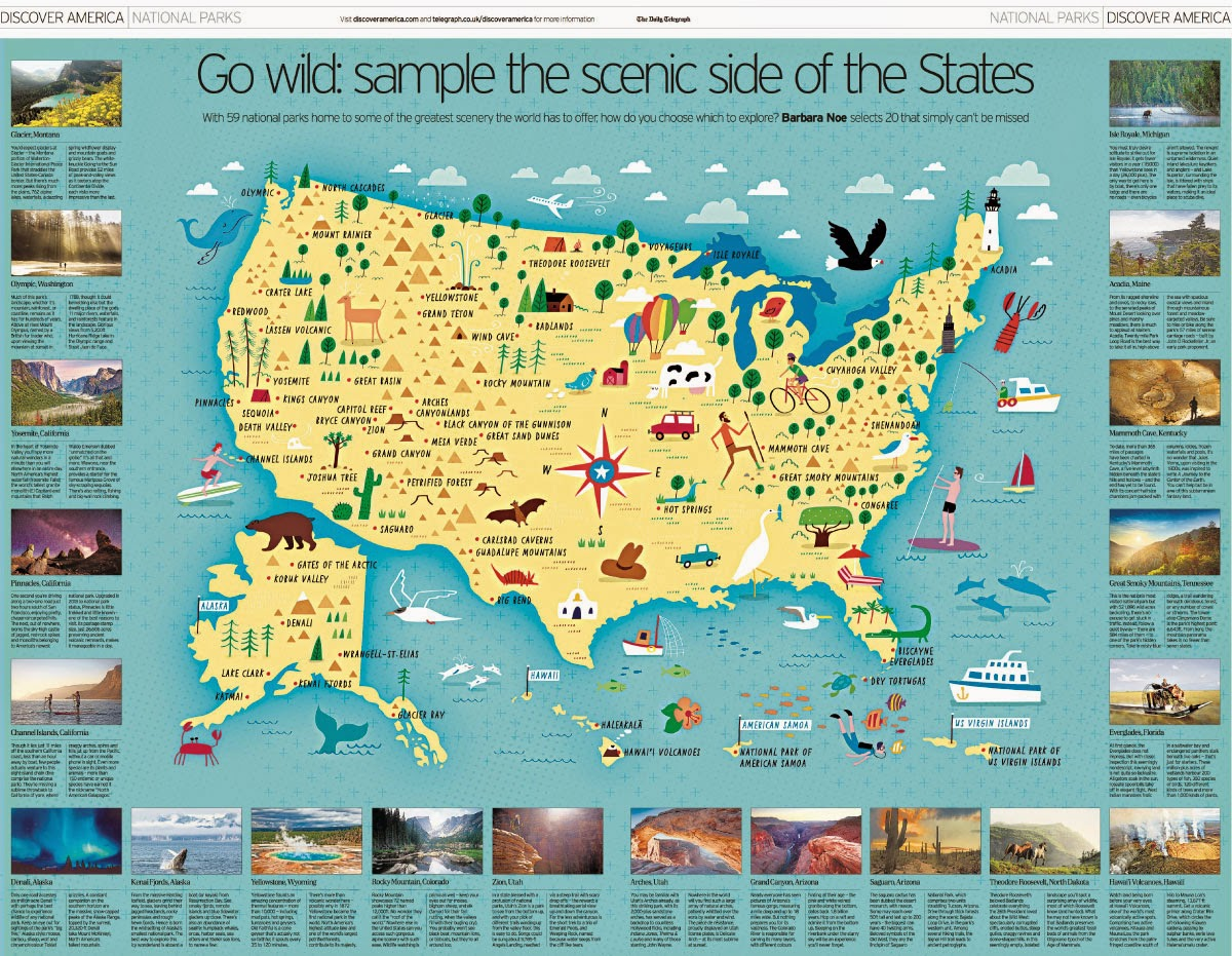 Map Of All National Parks My Blog - Map of us national park historical sites