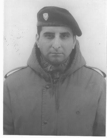 Capitán Rubén Teófilo Figueroa Compañía Comando 601
