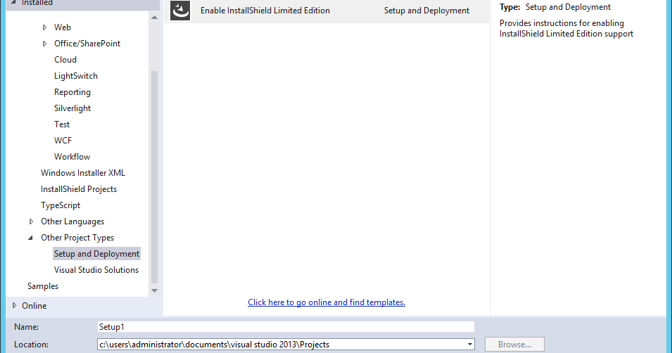 installshield limited edition for visual studio free download
