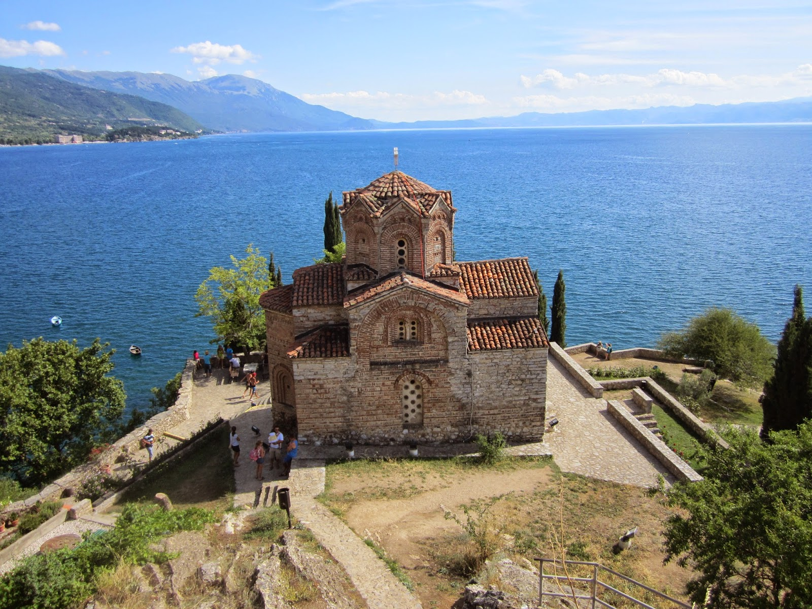 Gone with the backpack: MACEDONIA. Ohrid and Lake Ohrid.