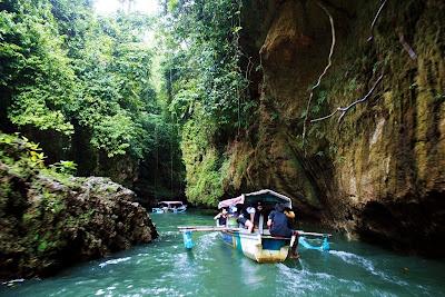 Objek Wisata Green Canyon Pangandaran Jawa Barat 3