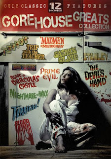 DVD cover - Mill Creek's Gore House Greats Collection