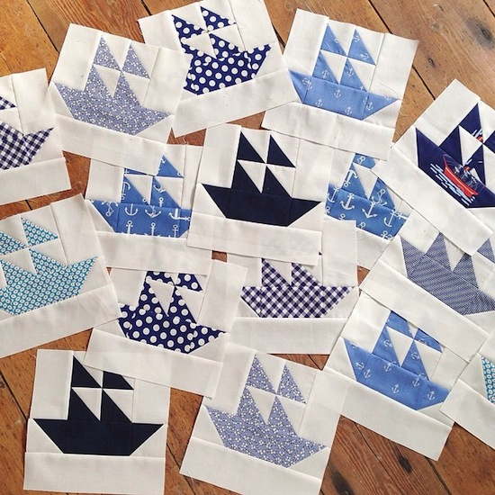 Free Lighthouse Quilt Block Patterns : MessyJesse - a quilt blog by Jessie Fincham: The Making of the Nautical Quilt