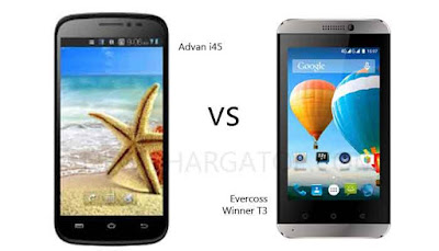 Advan i45 vs Evercoss Winner T3