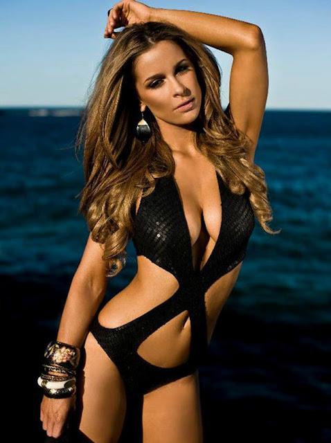 Fotos Ellie Gonsalves - A modelo Australiana com descendência Portuguesa