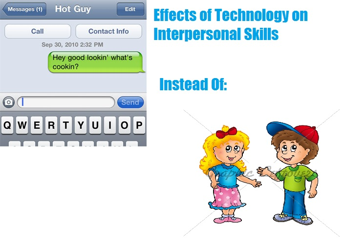 the adverse effect of technology on interpersonal skills Start studying chapter 8: foreign direct investment learn vocabulary, terms, and more with flashcards, games, and other study tools  technology, skills and jobs .