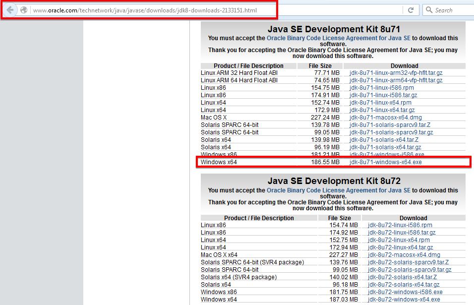 download java 7 64 bits