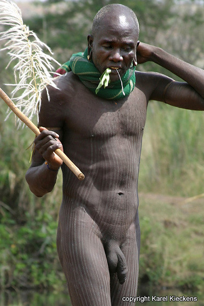 Mursi Male Tribe