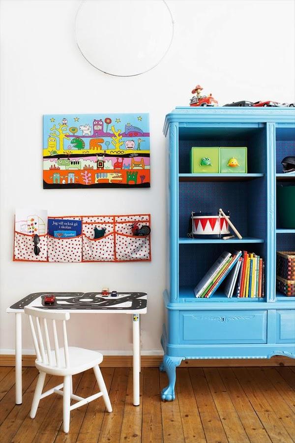 Lalole blog viejos muebles pintados para cuartos infantiles - Pintura para muebles ...