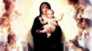Nossa Senhora, Rainha dos Anjos rogai por nós!