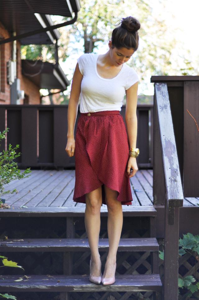 Sewing A Tulip Hem Skirt