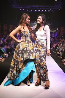 Actress Ileana DCruz Pictures On The Ramp at Madame Style Week 2014  13