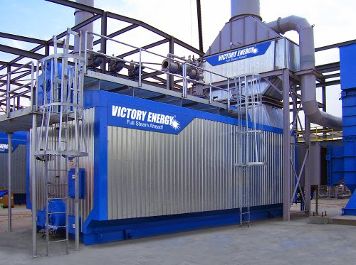 victory energy boiler