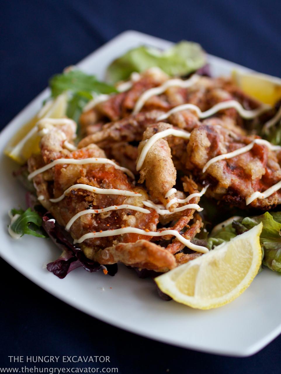 The hungry excavator tempura soft shell crab recipe tempura soft shell crab recipe forumfinder Gallery