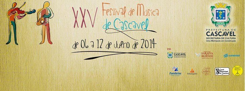 XXV Festival de Música de Cascavel