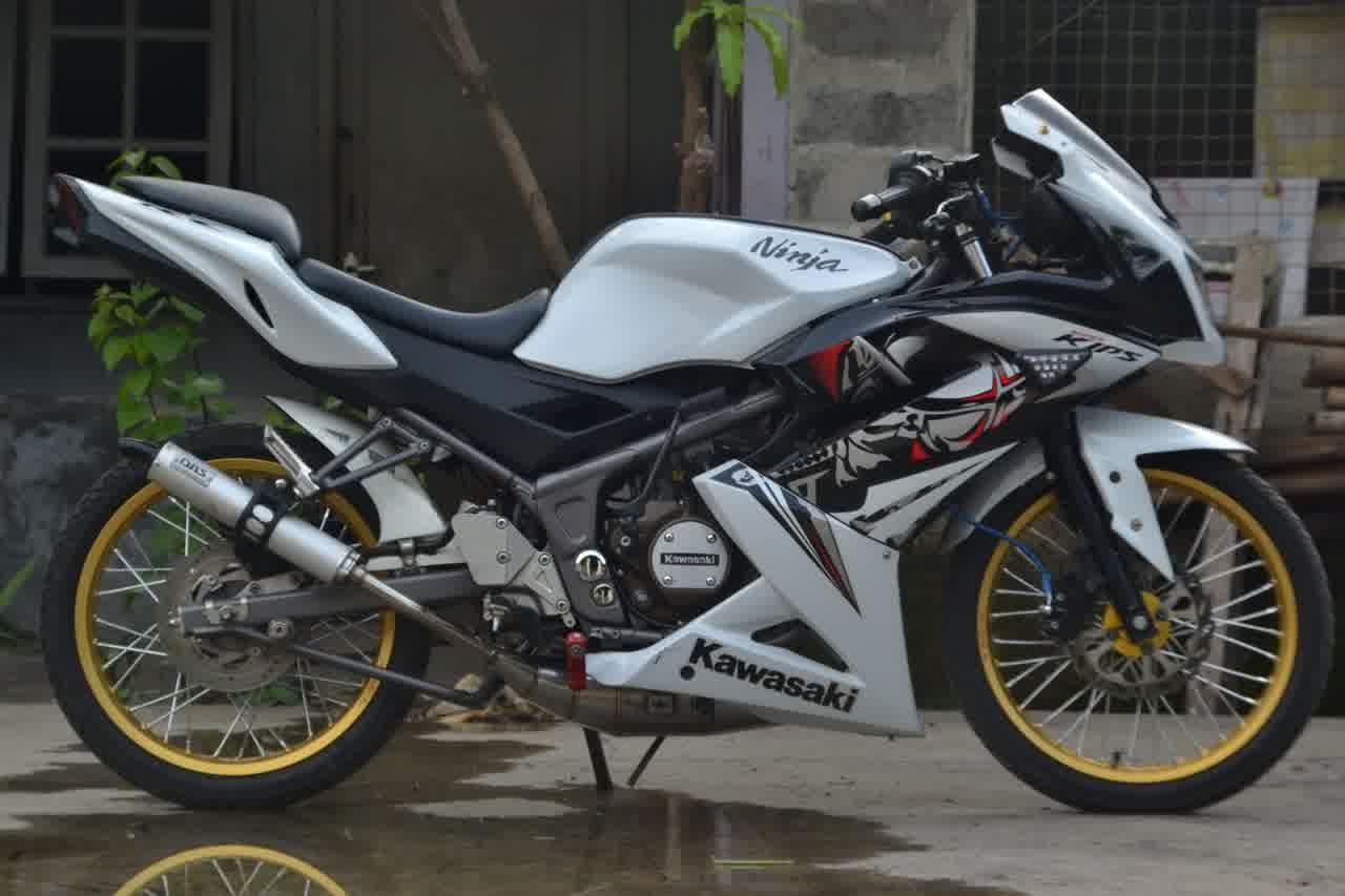 modifikasi motor ninja rr 2 tak terbaru 2015 - sukaon