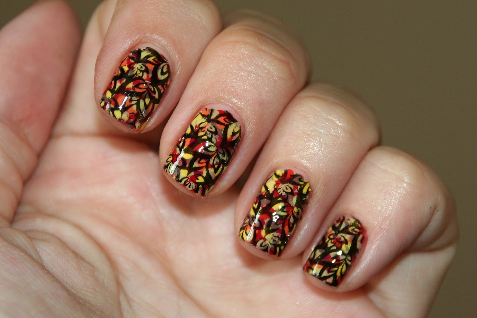 Thanksgiving Nail Design Pictures: Impressive thanksgiving nail ...