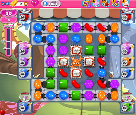 Candy Crush Saga 1051