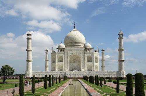 As 7 Curiosidades do Mundo Moderno - 7º Taj-Mahal, Agra, Índia