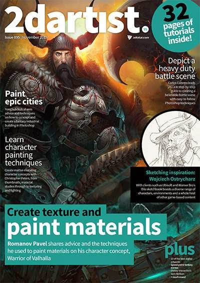 2DArtist Magazine Issue 095 November 2013