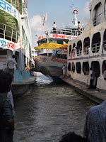 Ferries - Sadarghat River Port, Dhaka