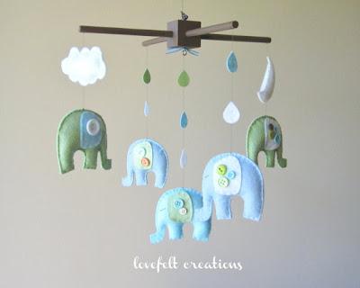 Elefántos bébi játék