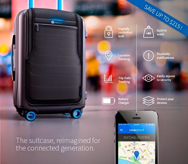 Smart Backpacks, Suitcases and Bags - Bluesmart Smart Suitcase (15) 7