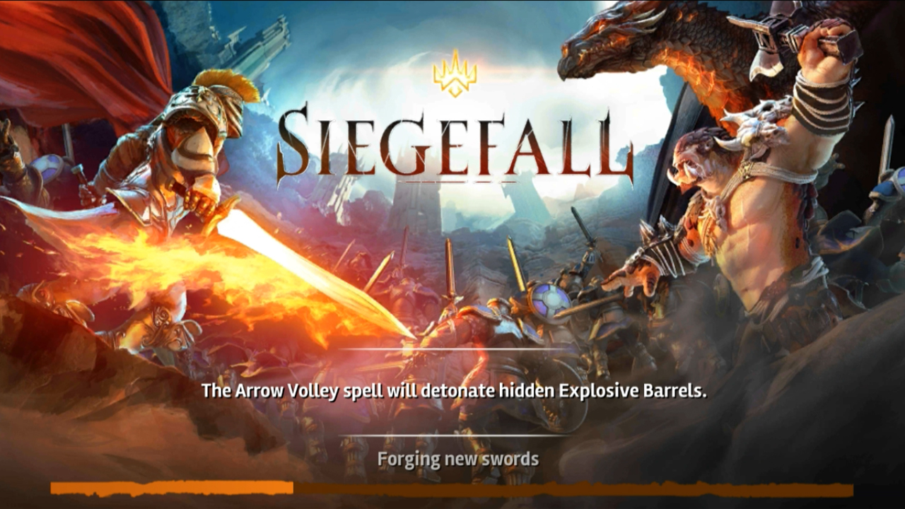 Siegefall Gameplay IOS / Android
