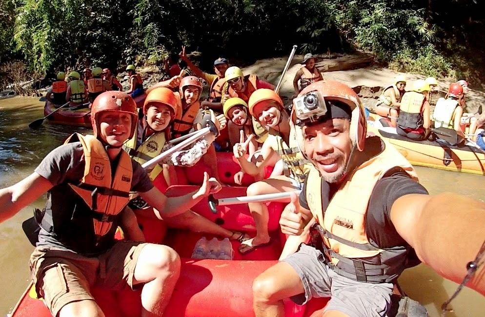 Pai White Water Rafting - Pai Thailand