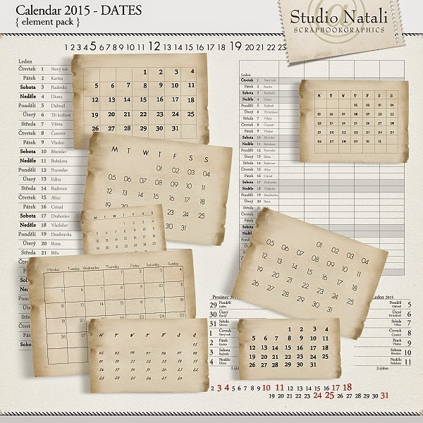 http://shop.scrapbookgraphics.com/Calendar-2015-Dates.html