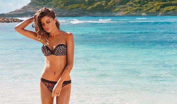 Calzedonia Swimwear Summer 2014 featuring Cameron Russell