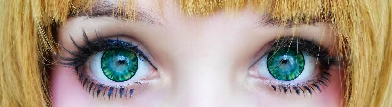 Employ I.Fairy Cara Green Circle Lenses for Luminious Eyes