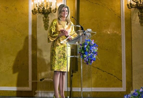 Dutch Royals Attends The Award Ceremony Of The Appeltjes Van Oranje 2015