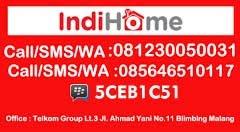 Koordinator dan Anggota sales Telkom Malang. email : fatkul@telkom.net.id
