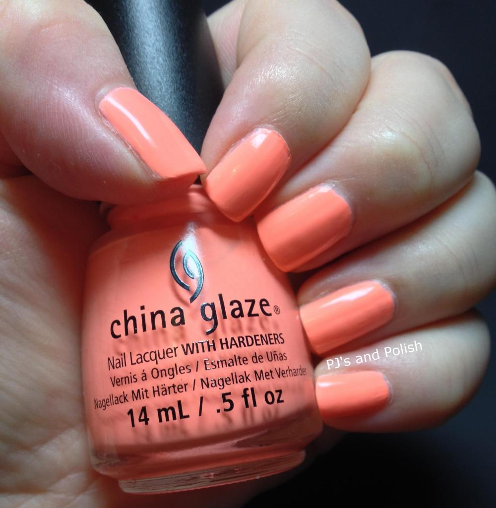 China Glaze Flip Flop Fantasy Creme HK Girl