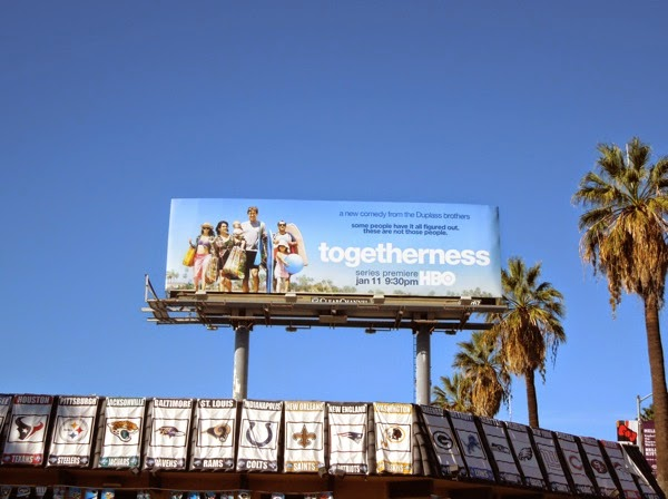 Togetherness HBO series billboard